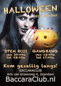 Halloween 2017 in Baccara Club Zaandam