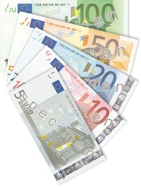 Betalen met eurobiljetten in de sexclub