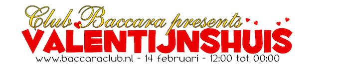 Valentijnshuis op 14 februari in sexclub Baccara